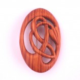 Vine brooch in Yew