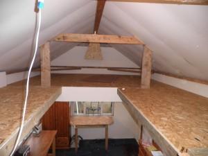 Storage upstairs