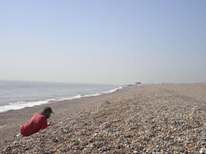 Geoff on a beach