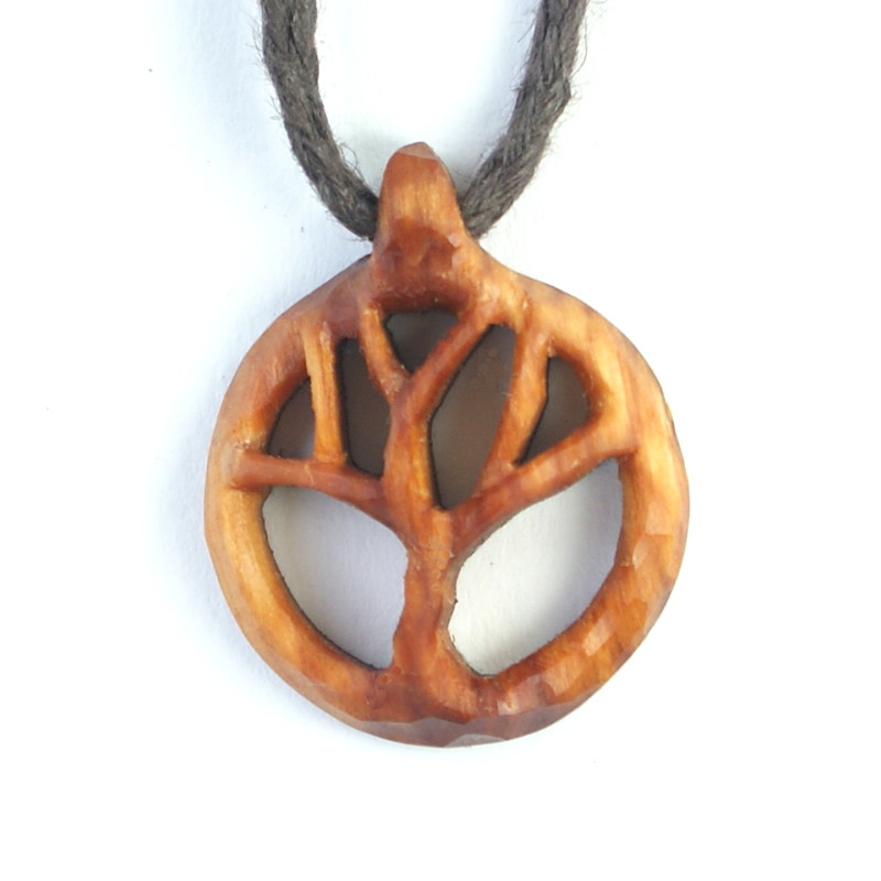 small tree of life necklace yew