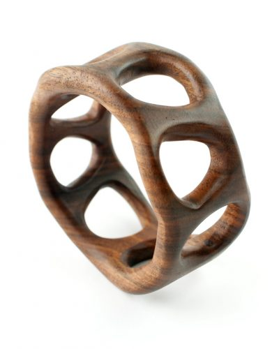 organico bangle walnut