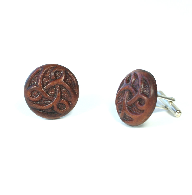 cuff links celtic cherry