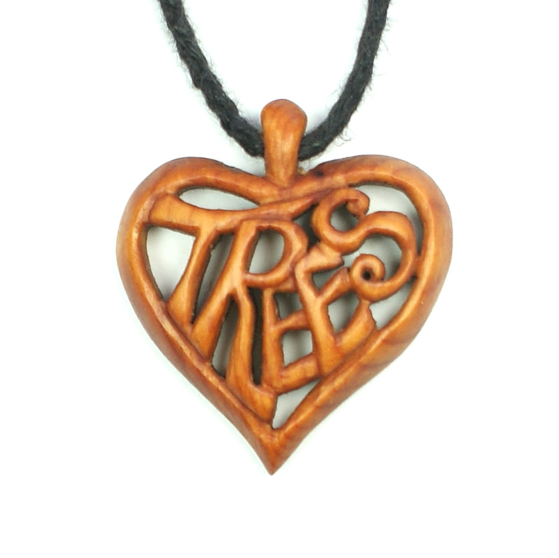 love trees necklace yew