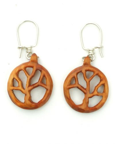 tree of life earrings yew