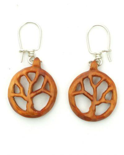 tree of life earrings yew