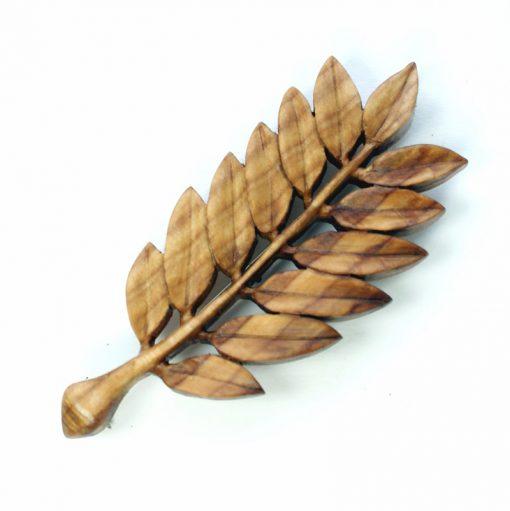 rowan leaf kilt pin