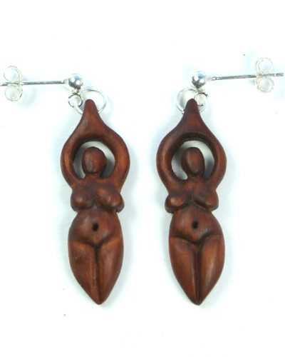 goddess earrings yew