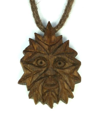 small green man in walnut