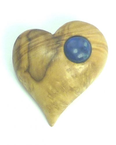 heart brooch box lapis