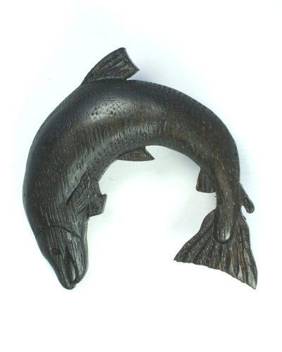 salmon brooch bog oak