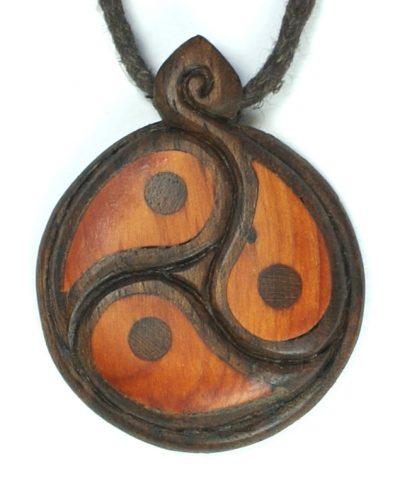 yin yang trio walnut + yew