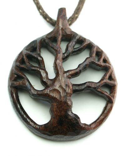 tree pendant walnut