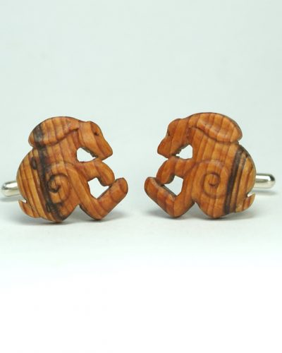 hare cuff links yew