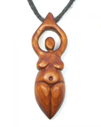 goddess necklace yew